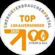Top-Lokalversorger 2020 Strom+Gas