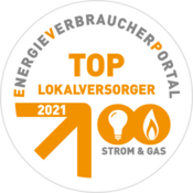 Top-Lokalversorger 2021 Strom+Gas