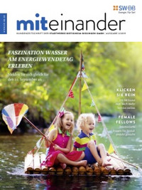 """aktuelle Ausgabe Kundenzeitschrift """"Miteinander"""""""