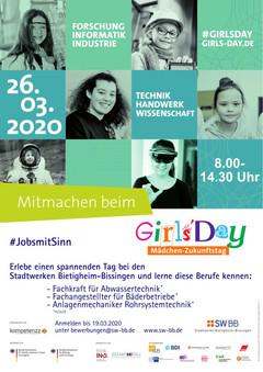 """SWBB-Plakat """"Girls Day"""""""