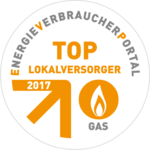 Top Lokalversorger 2017 Gas