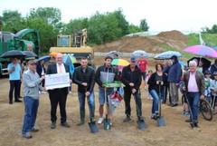 Spatenstich für den neuen Funpark in Oberriexingen