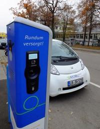 E-Tankstelle Etzelstraße