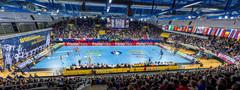 EgeTrans Arena mit internationalem Flair @wolf-sportfoto