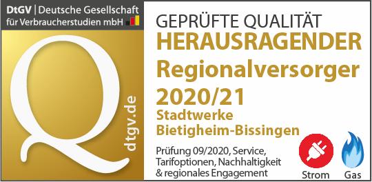 Deutschlands beste Regionalversorger