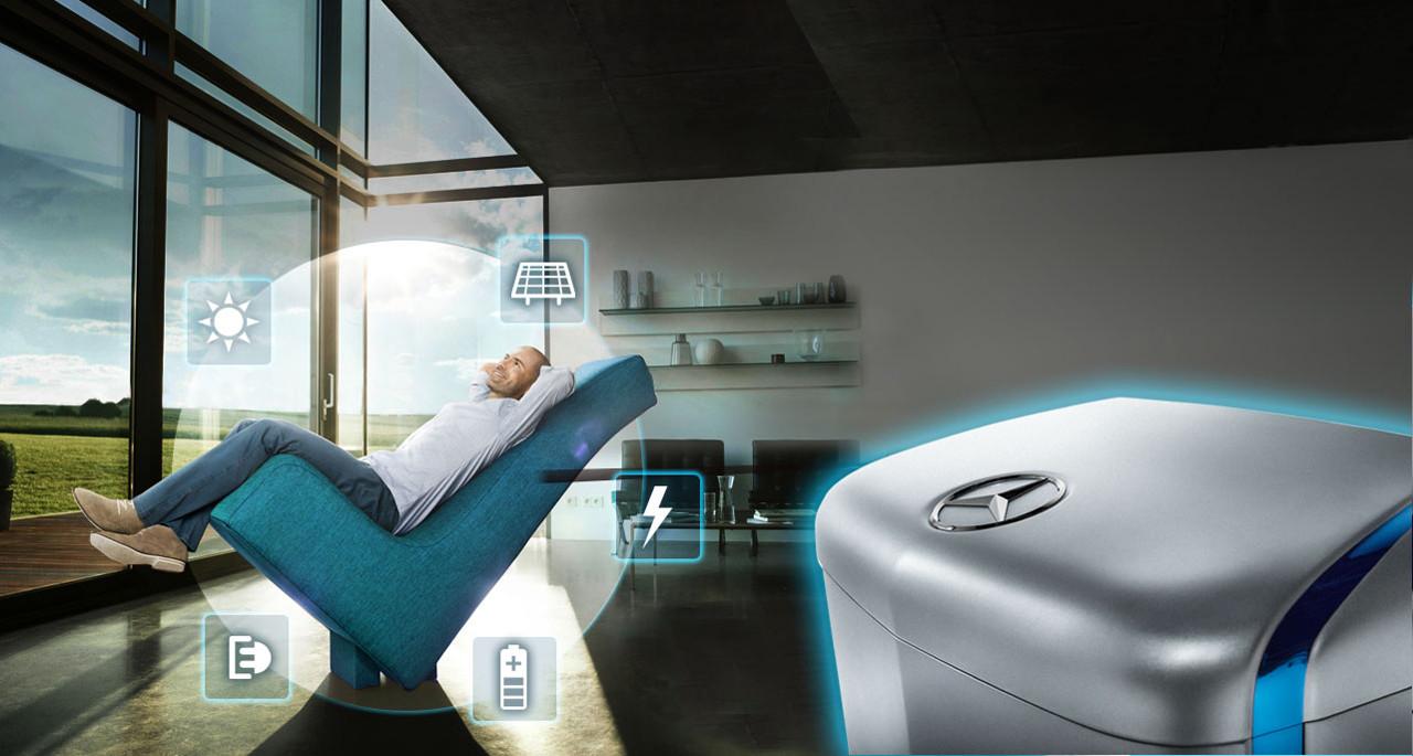 Die Energiespeicherlösung von Mercedes-Benz