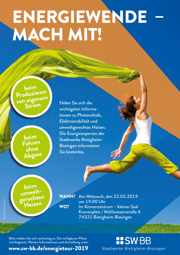 Plakat Vortrag Energiewende