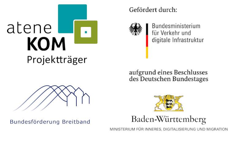 Förderer des Projekts Breitband